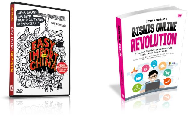 DVD Easy Import From China & Buku Bisnis Online Revolution